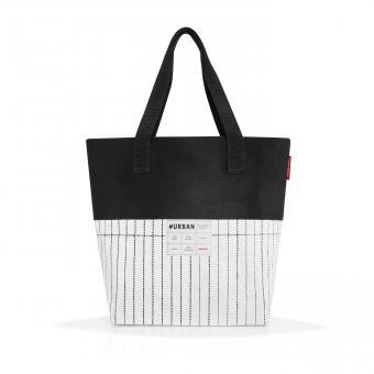 Reisenthel #urban bag Paris Tasche black & white