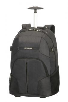 Samsonite Rewind Laptop Rucksack 2 Rollen 55cm Black