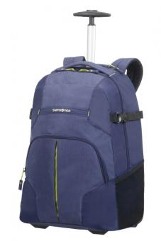 Samsonite Rewind Laptop Rucksack 2 Rollen 55cm Dark Blue