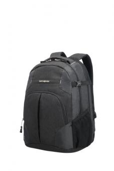 "Samsonite Rewind Laptop Rucksack L Expandable 16"" Black"