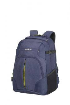 "Samsonite Rewind Laptop Rucksack L Exp. 16"" Dark Blue"