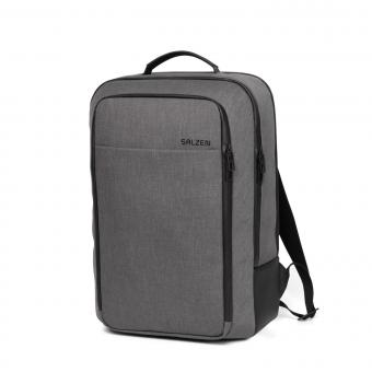 """Salzen New Collection Business Backpack 15,6"""" Storm Grey"""
