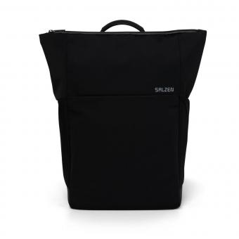 Salzen New Collection Plain Backpack Phantom Black