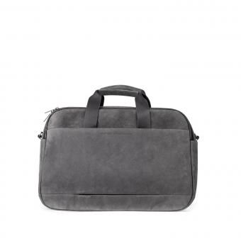 "Salzen Sleekline Workbag Leather 15,6"" Slate Grey"