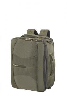 "Samsonite 4Mation 3-Way Shoulder Bag Exp 16"" Olive/Yellow"