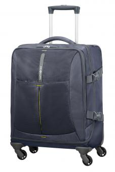 Samsonite 4Mation Spinner Duffle 55cm Midnight Blue/Yellow