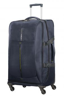 Samsonite 4Mation Spinner Duffle 77cm Midnight Blue/Yellow