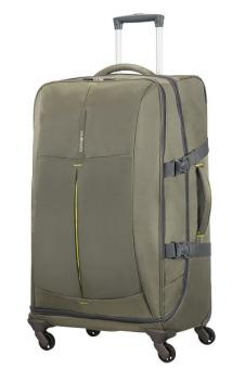 Samsonite 4Mation Spinner Duffle 77cm Olive/Yellow