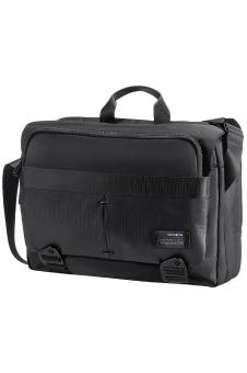 "Samsonite Cityvibe Laptop Messenger 16"" erweiterbar Jet Black"