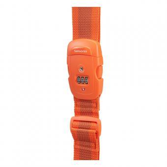 Samsonite Global Travel Accessories Kofferband mit TSA-Schloss Orange
