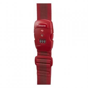 Samsonite Global Travel Accessories Kofferband mit TSA-Schloss Red