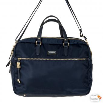 "Samsonite Karissa Biz Bailhandle 15.6"" 2 Comp. dark navy"