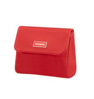 Samsonite Karissa Cosmetic Cases Flip Pouch Formula Red