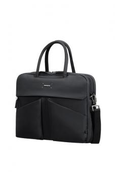 "Samsonite Lady Tech Organized Bailhandle 14.1"" Black"
