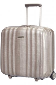 Samsonite Lite-Cube Rolling Tote Plus Ivory gold