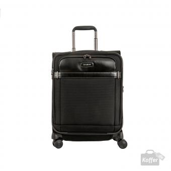 Samsonite Lite DLX SP Spinner 55 erweiterbar + Tabletfach Black