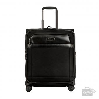 Samsonite Lite DLX SP Spinner 56 erweiterbar + Tabletfach Black