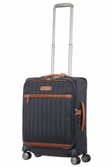 Samsonite Lite DLX Spinner 55cm erweiterbar + Tabletfach Midnight Blue