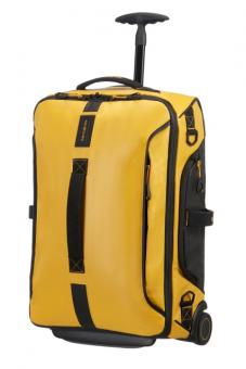 Samsonite Paradiver Light Duffle mit Rollen 55cm Strict Cabin Yellow