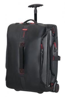Samsonite Paradiver Light Reisetasche mit Rollen 55cm Rucksack Black