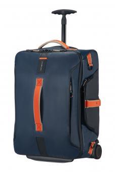 Samsonite Paradiver Light Reisetasche mit Rollen 55cm Rucksack Blue Nights *Limited