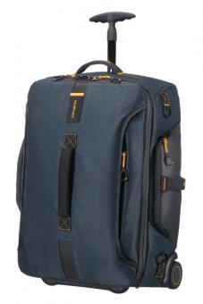 Samsonite Paradiver Light Reisetasche mit Rollen 55cm Rucksack Jeans Blue