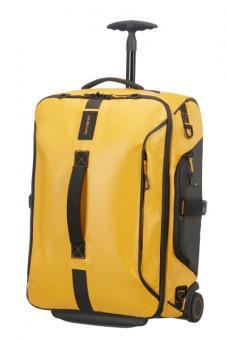 Samsonite Paradiver Light Reisetasche mit Rollen 55cm Rucksack Yellow
