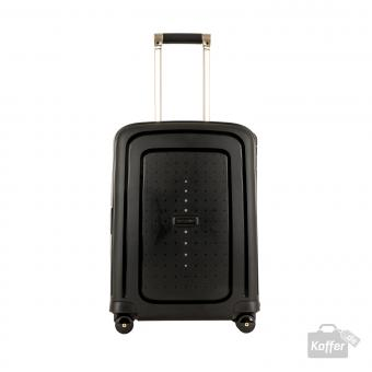 Samsonite S'Cure DLX Spinner 55cm Cabin Black/Gold