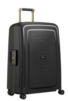 Samsonite S'Cure DLX Spinner 69cm Black/Gold Deluscious