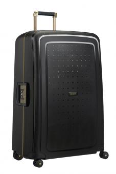Samsonite S'Cure DLX Spinner 81cm Black/Gold Deluscious