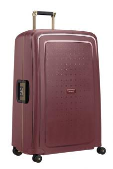 Samsonite S'Cure DLX Spinner 81cm Burgundy/Gold Deluscious