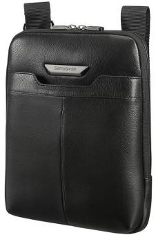 "Samsonite Sygnum Flat Crossover L mit Tabletfach 9.7"" Black"