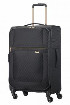 Samsonite Uplite Spinner 67cm erweiterbar Black/Gold