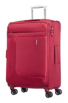 Samsonite Asphere Spinner erweiterbar 67cm Red/Grey