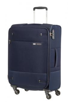 Samsonite Base Boost Spinner erweiterbar 66cm Navy Blue