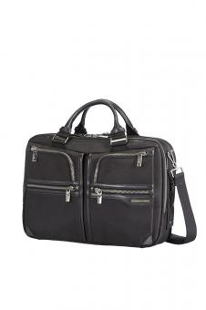 Samsonite GT Supreme Bailhandle 2 Compartments Expandable 15,6 Zoll Black/Black