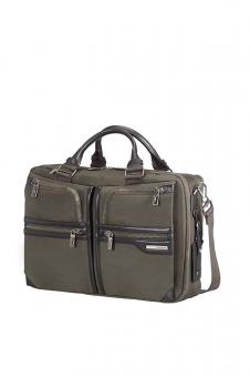 Samsonite GT Supreme Bailhandle 2 Compartments Expandable 15,6 Zoll Dark Olive/Black