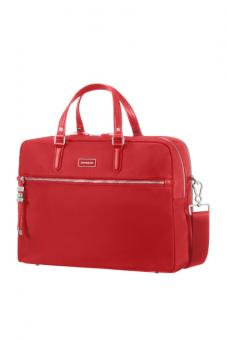 "Samsonite Karissa Biz Bailhandle 15.6"" 2 Comp. formula red"