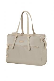 "Samsonite Karissa Biz Organised Shoppingbag mit Laptopfach 14.1"" light taupe"