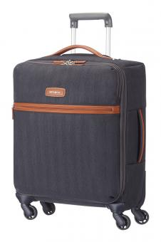 Samsonite Lite DLX Spinner 55cm Midnight Blue *Auslaufartikel