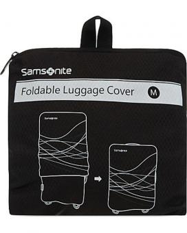 Samsonite Luggage Accessories Foldable Luggage Cover S Black