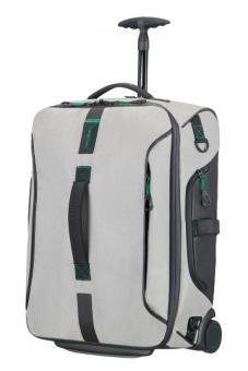 Samsonite Paradiver Light Reisetasche mit Rollen 55cm Rucksack Jeans Grey