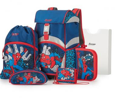 Sammies Ergonomic Backpack Set Marvel Spiderman Pop