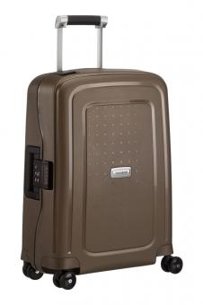 Samsonite S'Cure DLX Spinner 55cm Cabin Metallic Bronze