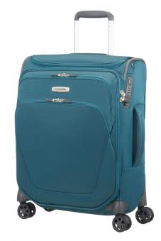 Samsonite Spark SNG Spinner 55cm mit Toppocket Petrol Blue