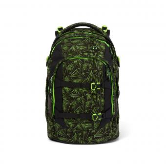 satch pack Schulrucksack *Back to School Kollektion 2020* Green Bermuda