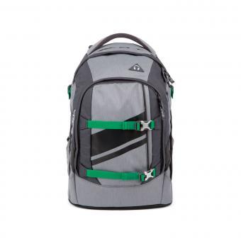 satch pack Schulrucksack Blazing Grey