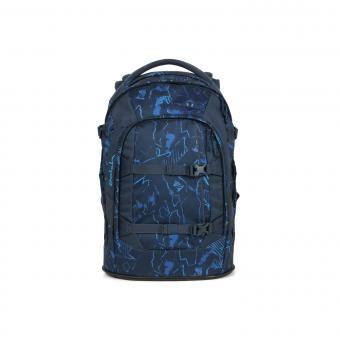 satch pack Schulrucksack Blue Compass