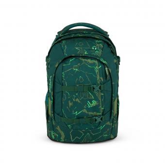 satch pack Schulrucksack Green Compass