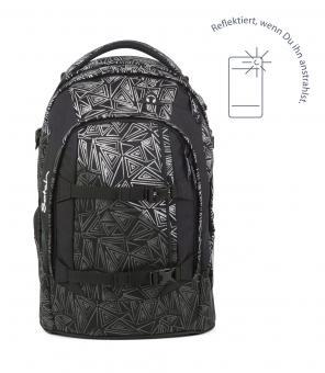 satch pack Schulrucksack *reflective Style* Ninja Bermuda